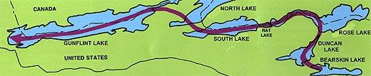 Route 6 Bearskin to Gunflint