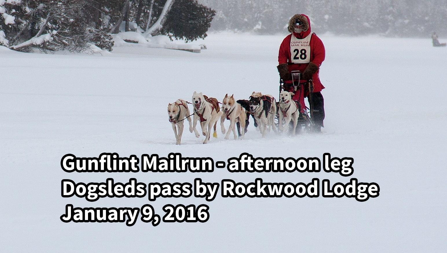 Gunflint Mailrun Dogsleds