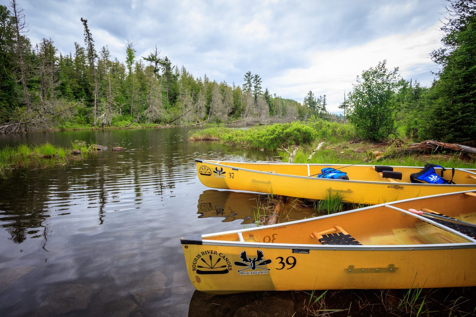 Canoes and Equipment List | Rockwood Lodge and Outfitters