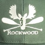 Hat embroidered green
