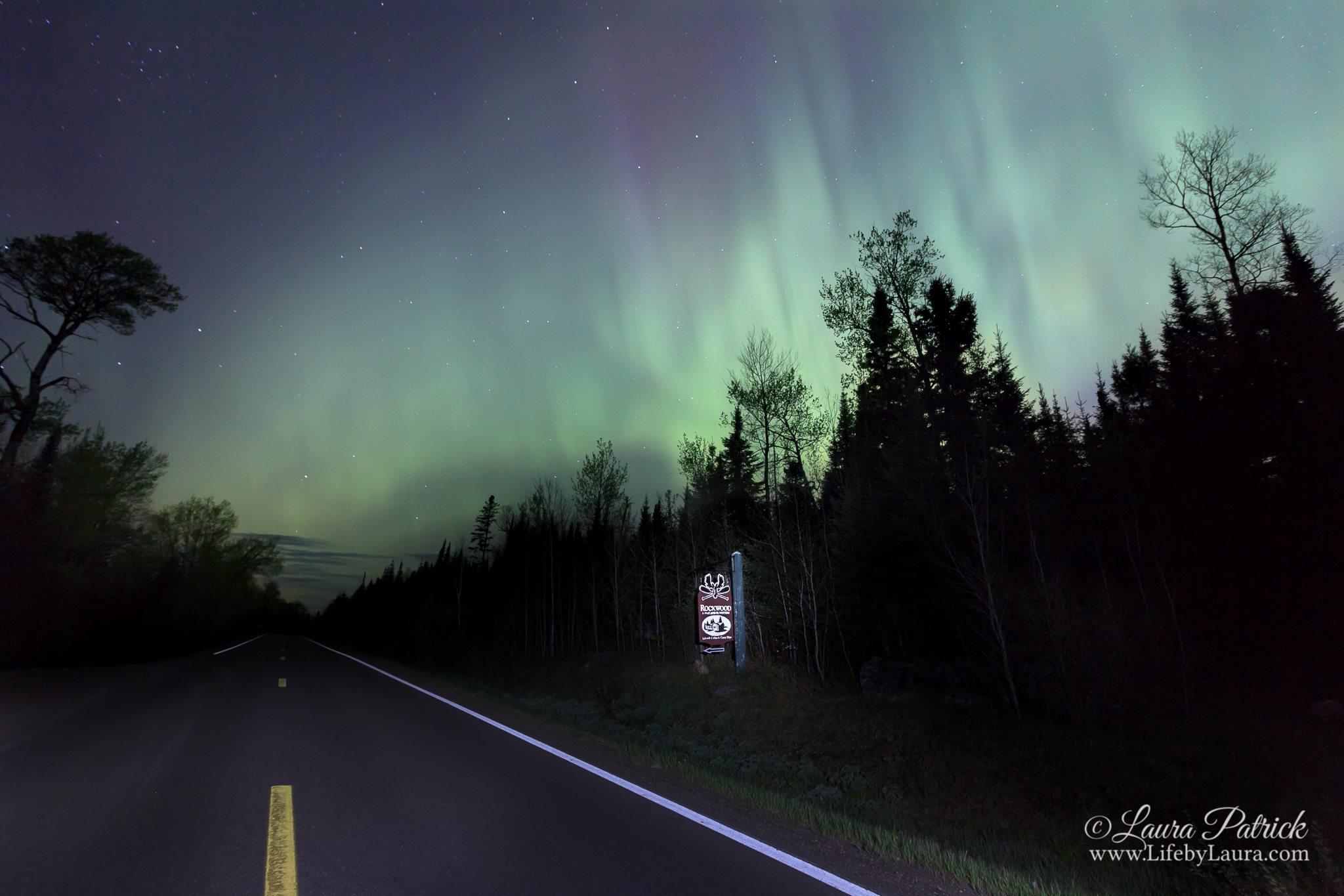 Northern Lights Aurora Borealis at Rockwood