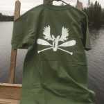 Outfitters green short sleeve back
