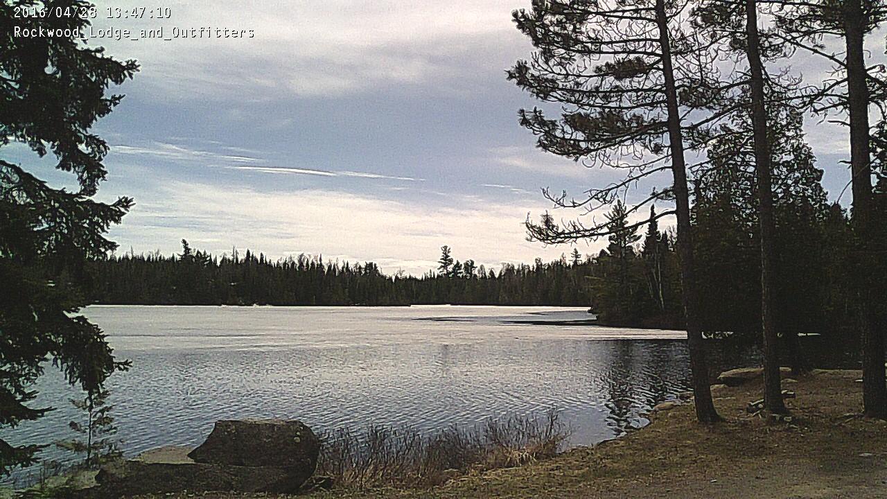 Ice on Poplar Lake, April 28th